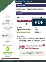 Ficha Técnica - CALCULATE Mago de la Modificación de Contextos