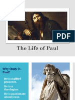 The Life of St Paul