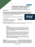 Khaitovich 2008 - Metabolism Schizophrenia and Human Brain Evolution