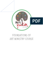 Foundation of Art Ministry Workbook Pages 1-21