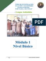 modulo ashaninka básico