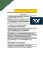 Battery files list