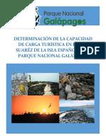 capacidad de carga Galapagos