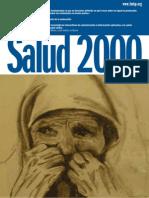 Innovaciones tecnológicas 2.0 aplicadas a la salud, una aproximacion critica, Salud 2000