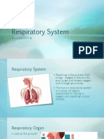 Reinfprcement on Respiratory System