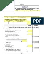 form 16 excel format