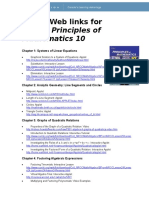 Useful Web links For Principles of Mathematics 10.doc