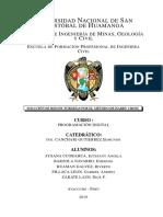 informe en latex y codigo en  python metodo de hardy cross redde tuberias ing civil UNSCH