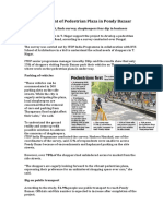 Development of Pedestrian Plaza in Pondy Bazaar
