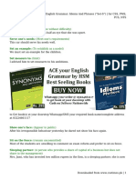 "English Grammar_ Idioms And Phrases (""Set-S"") _ for CSS, PMS, PCS, NTS"