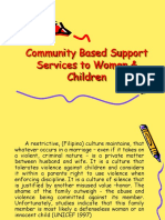 Community Based Support Services to Women & Children