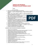 BANCO DE PRUEBAS  GARNER DIESEL ELECTRONICO 20HP 631-1220 caracteristicas DEFINIT