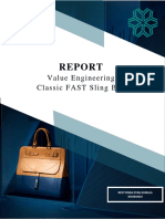 report FAST-Sling bag