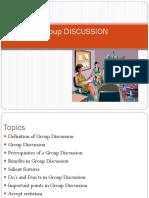 GroupDiscussion