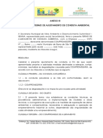 ANEXO III - MODELO DE TAC