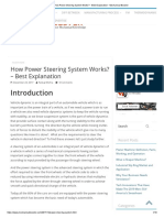 How Power Steering System Works_ - Best Explanation - Mechanical Booster