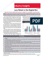 Global Luxury Retail in the Digital Era