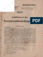 Ausbildung in der Panzernahbekämpfung - WW II , 2. WK , 1945