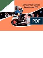 ESTRUCTURA DEL SISTEMA EDUCATIVO EN 1997