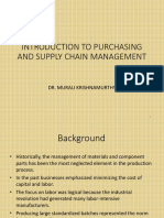 l 1 Introduction to Purchasing and Supply Chain Management