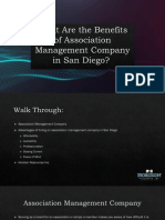 What Are the Benefits of Association Management Company in San Diego, California