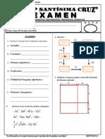 Examen 2do bimestral