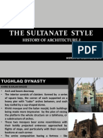 THE SULTANATE STYLE_Lecture.pptx