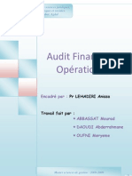 Audit Operationnel