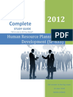 27Human Resource Planning and Development