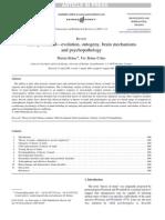 Psychology - Theory of Mind - Evolution, Ontogeny, Brain Mechanisms and Psycho Pathology