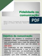 UEFS -Fidelidade Na Comunicacao
