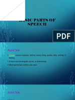 Basic Parts of Speech