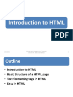lect1 (Introduction to HTML)