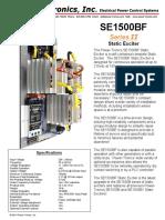 SE1500BF-Series-II