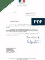 Marie-Hélène Sauzéa élevée au grade de chevalier de l'Ordre National du Mérite !