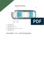 VOLKSWAGEN PASSAT (B7) FUSE BOX DIAGRAM 2010-2015