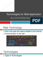 Lecture#07_Technologies for web applications