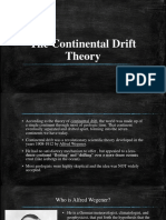 The Continental Drift Theory