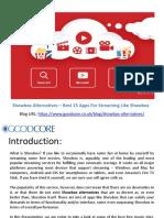 Showbox Alternatives – Best 15 Streaming Apps Like Showbox