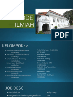 KELOMPOK 12 FILSAFAT - Metode Ilmiah-converted