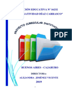 PROYECTO CURRICULAR INSTITUCIONAL - 2019-ALE