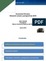 Economía Peruana Situación actual y perspectivas 2019