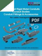 REXWAY PVC Coated Rigid Metal Conduit Catalogue (PVC Coated)