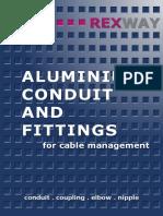 REXWAY Aluminium Conduit and Fittings Catalogue