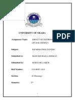 advantages of information system