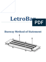 Busway Method of Statement