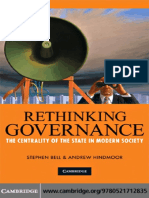 Stephen Bell, Andrew Hindmoor - Rethinking Governance_ The Centrality of the State in Modern Society (2009).pdf