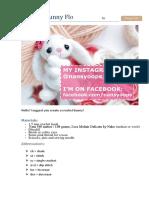 Bunny-Flo patrón crochet