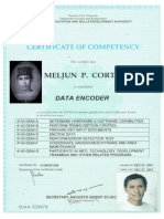 MELJUN CORTES TESDA License NC I Data Encoder