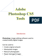 Adobe Photoshop Tools CS5